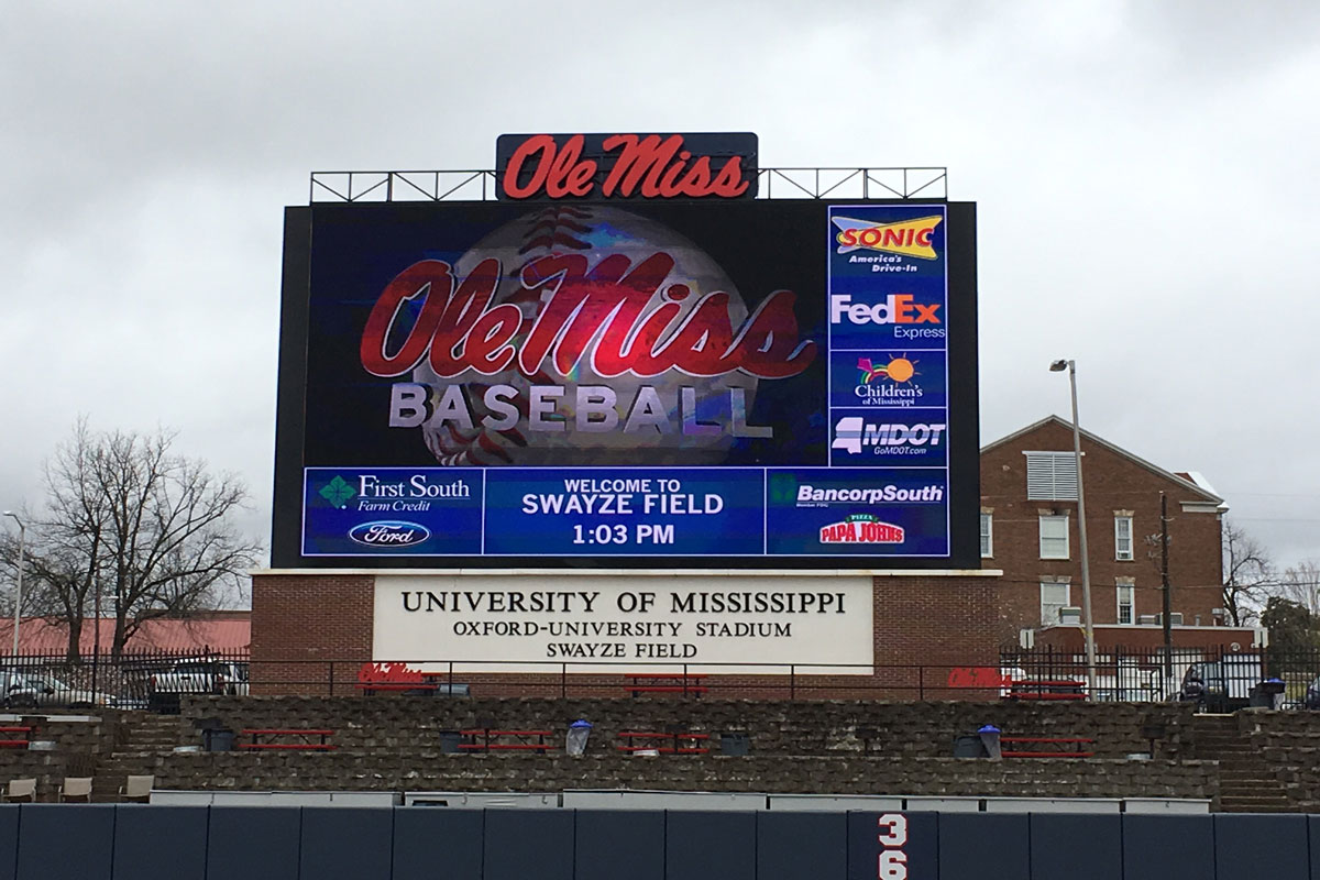 Ole Miss baseball picture